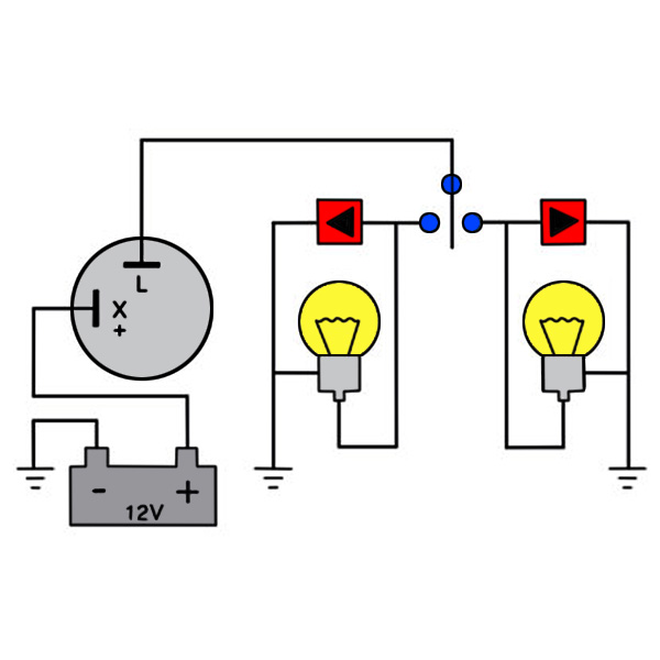 Turn Signal Relay Flasher Wiring Diagram