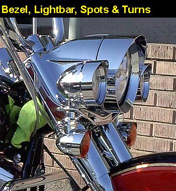 British Made rainur/é Harley/® Heritage//Fatboy Flstf Flstc/® Stem /Écrou Coque avec horloge